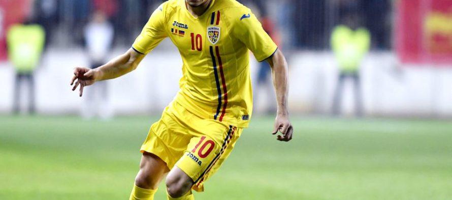 Ianis Hagi a jucat pentru prima data la Nationala, in meciul contra Lituaniei