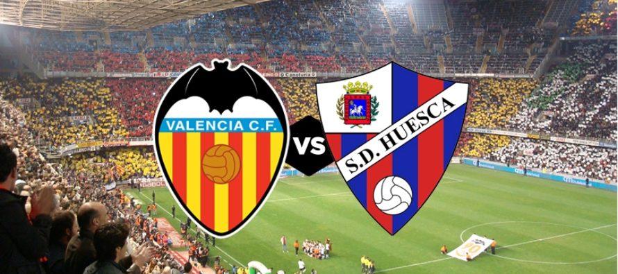 Valencia – SD Huesca: La Liga, Etapa 17 (23 decembrie)