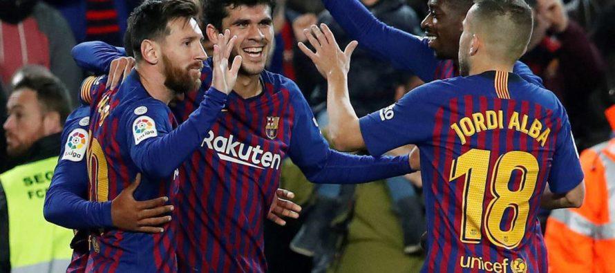 Barcelona – Villarreal 2-0. Catalanii ocupa prima pozitie din La Liga