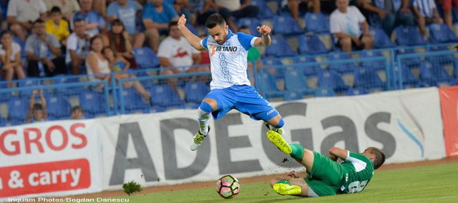 Concordia- CSU Craiova 1-3. Craiovenii sunt mai aproape de primul loc in Liga 1