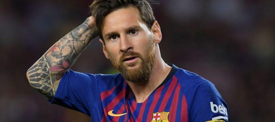 Un nou record stabilit de Messi, dupa victoria cu Levante
