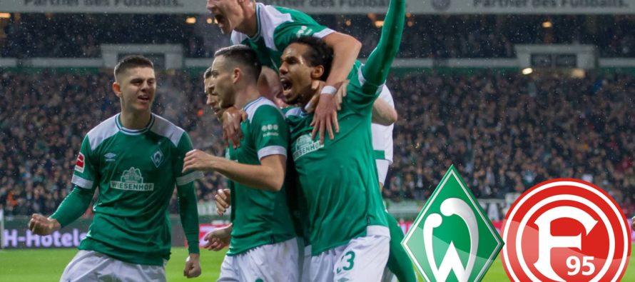Werder Bremen – Fortuna Dusseldorf 3-1. Invingatoarea este tot mai aproape de cupa europeana