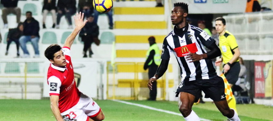 Portimonense – Braga: Primeira Liga, Etapa a 17-a (10 ianuarie)