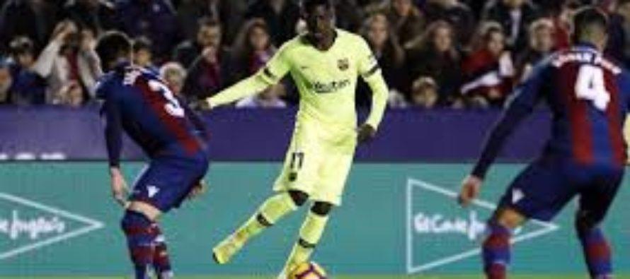 Levante-Barcelona 2-1. Pierdere surprinzatoare pentru lidera din Primera Division