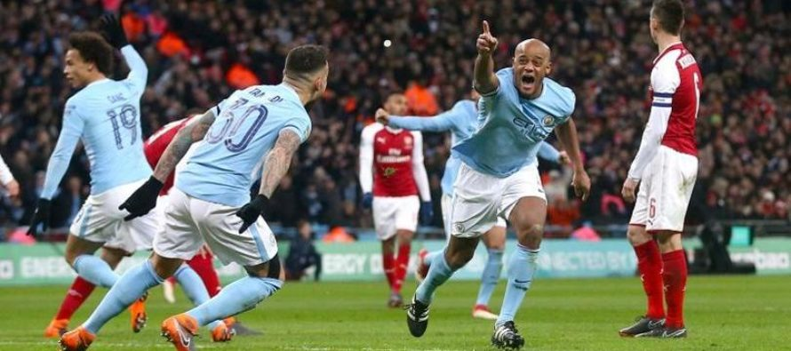 Manchester City – Arsenal: Premier League, Etapa a 25-a (3 februarie)
