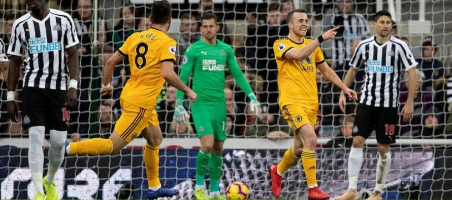 Wolverhampton Wanderers-Newcastle United: Premier League, Etapa a 26-a (11 februarie)