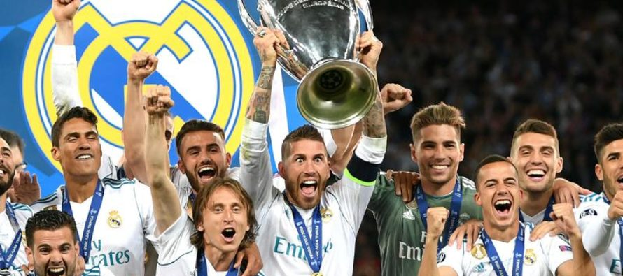 Cati bani a reusit sa incaseze Real Madrid de la UEFA pentru a 13-a Liga a Campionilor