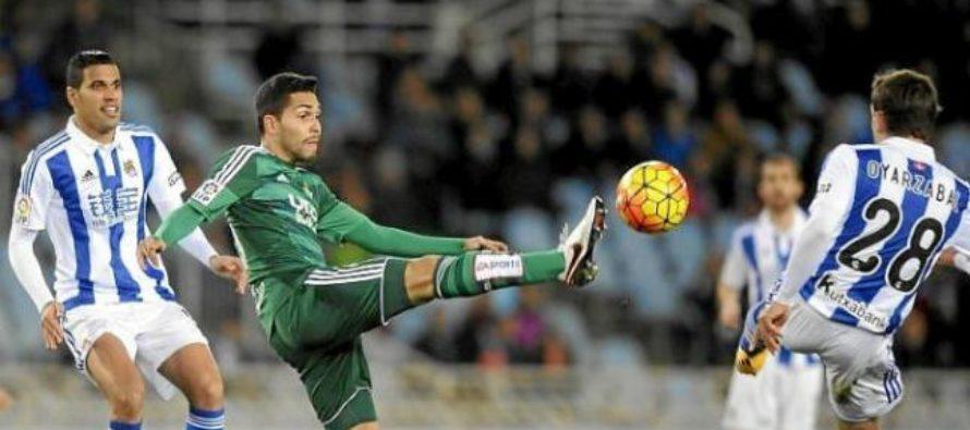 Real Sociedad – Real Betis: La Liga, Etapa 30 (4 aprilie)