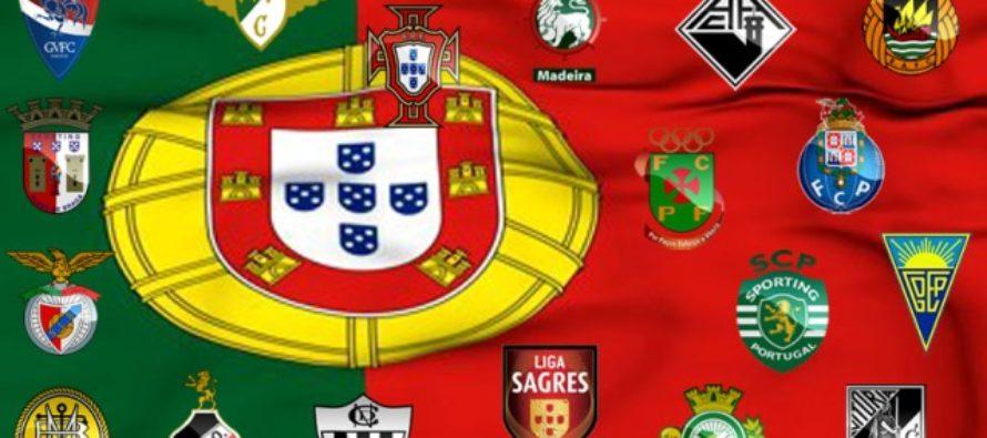 Clasament Portugalia, Liga Sagres