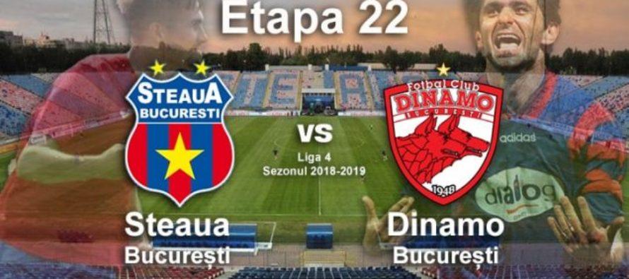 Eternul derby Steaua-Dinamo