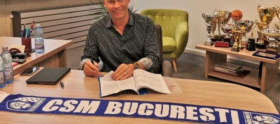 CSM Bucuresti si-a oficializat noul antrenor, pe Tomas Ryde