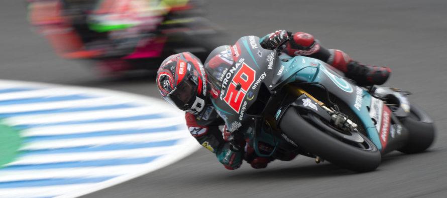 Quartararo, in pole position