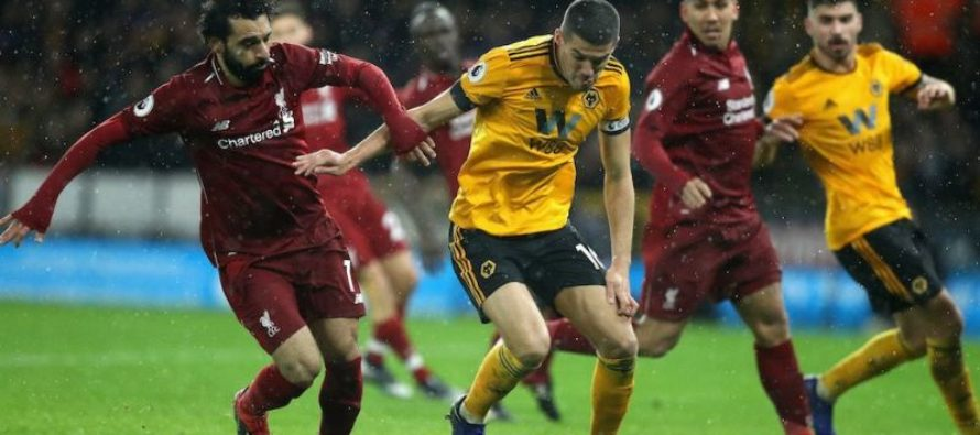 Liverpool – Wolverhampton: Premier League, Etapa a 38-a (12 mai)