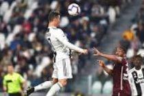 Juventus-Torino 1-1. Ronaldo a reusit sa egaleze cu o lovitura de cap impresionanta