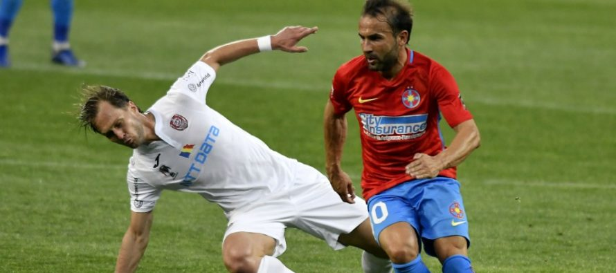 FCSB-CFR Cluj, derby-ul de catifea s-a incheiat cu scorul de 1-0