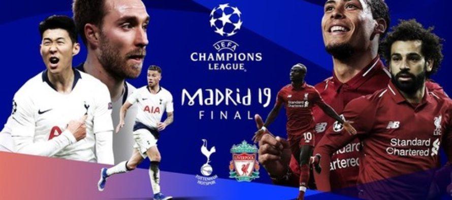 Tottenham si Liverpool joaca in finala Champions League 2019 sambata