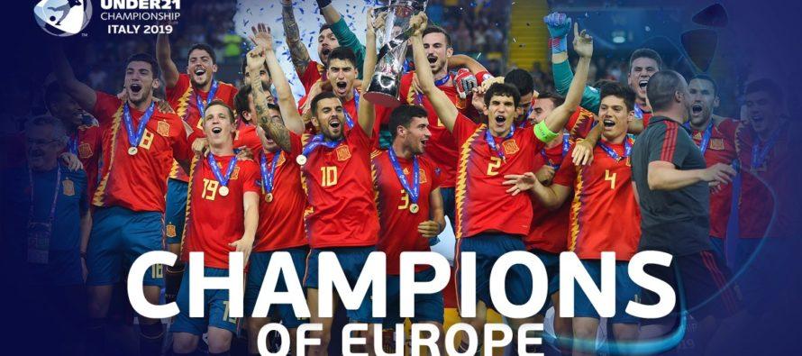 Spania este noua campioană europeană la fotbal U21