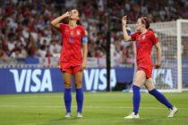 Statele Unite au învins Anglia la fotbal feminin