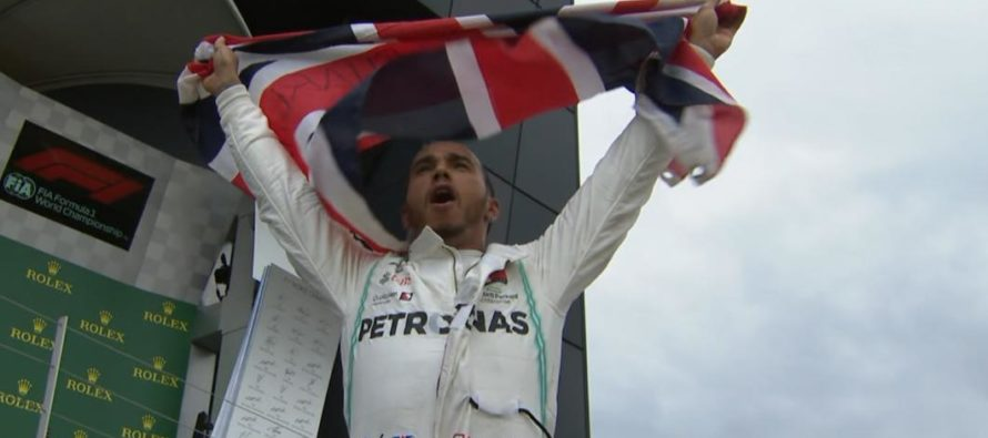 Lewis Hamilton s-a impus in Marele Premiu de la Silverstone