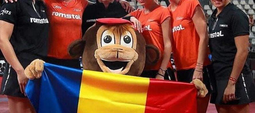 Echipa feminină de tenis de masă a României, campioană europeană