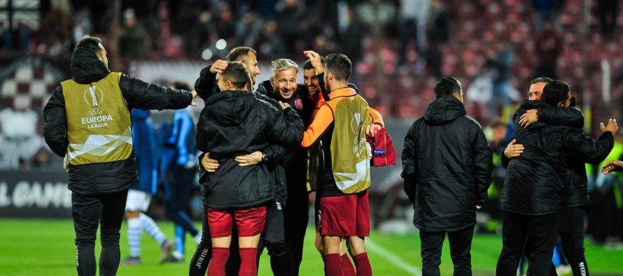 CFR Cluj a trecut de Lazio cu 2-1