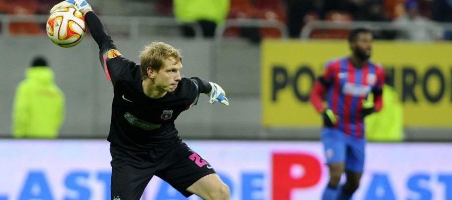 Arlauskis, în echipa ideală a Europa League