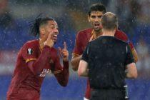 Meciul AS Roma – Mönchengladbach 1-1. S-a lasat cu scandal