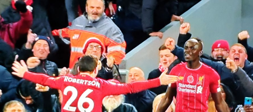 Liverpool a demolat-o pe Manchester City pe Anfield