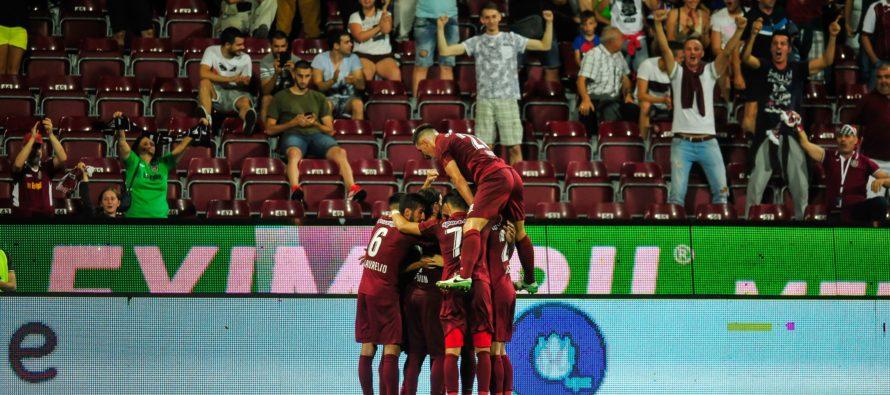 CFR Cluj a trecut de Rennes și după ce a jucat în 10 oameni