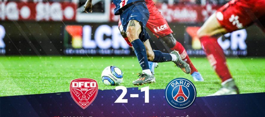 Paris Saint Germain, învinsă în campionat
