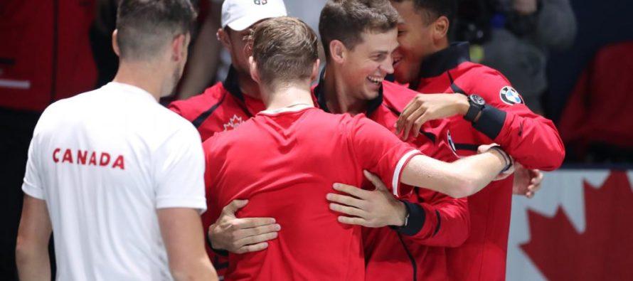 Canada s-a retras de la dublu in Cupa Davis impotriva SUA deoarece scorul era deja de 2-0