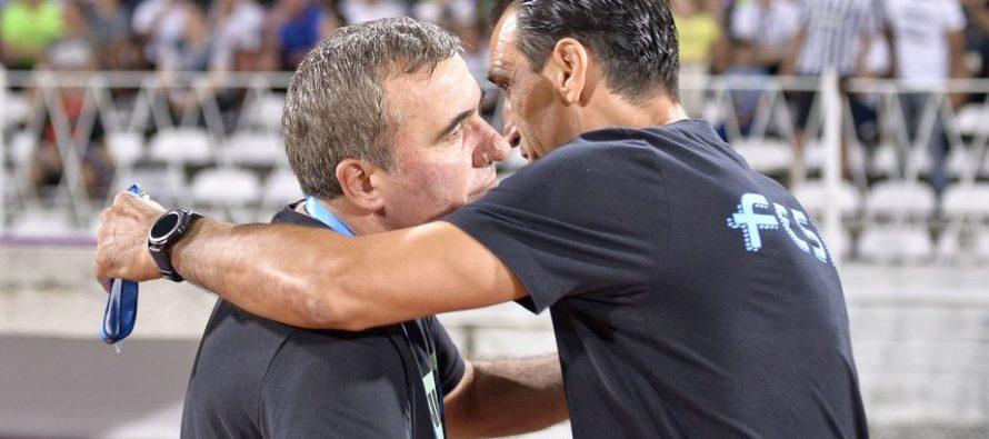Bogdan Vintila, fostul secund al lui Hagi cauta victoria cu numarul 2 impotriva celui care l-a facut antrenor