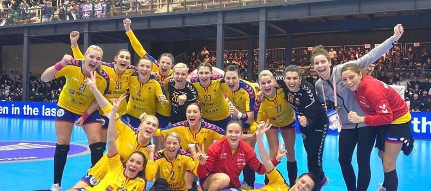 Naționala feminină de handbal, calificată direct la Euro