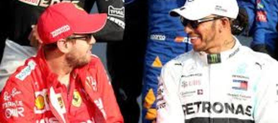 Vettel i-a facut loc lui Hamilton la Ferrari