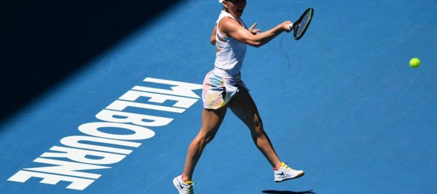 Simona Halep merge mai departe la Australian Open