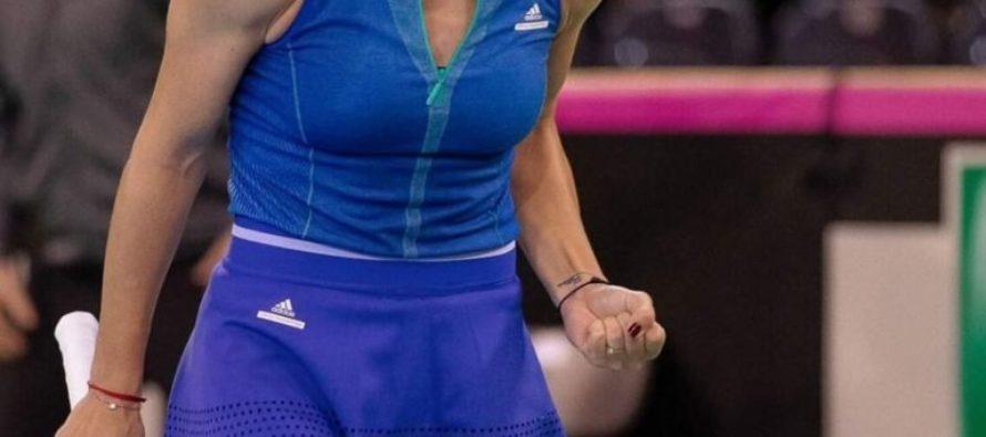 Ana Bogdan a adus un punct României în meciul cu rusoaicele