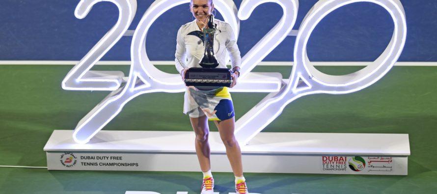 Simona Halep a câștigat turneul de la Dubai
