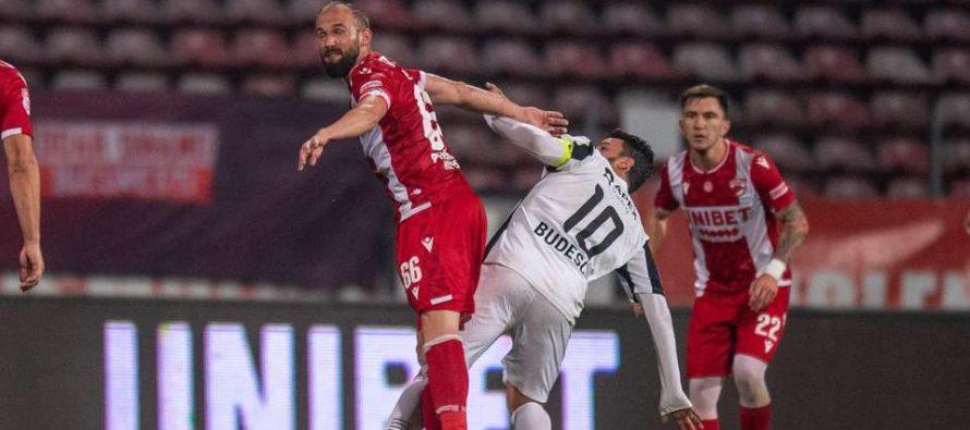 Dinamo a remizat cu Astra și a ajuns pe ultimul loc pentru prima dată în istorie