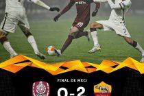 AS Roma a bătut cu 2-0 la Cluj