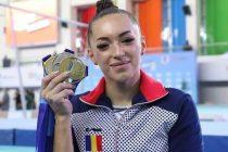 Larisa Iordache, aur la Gimnastică artistică