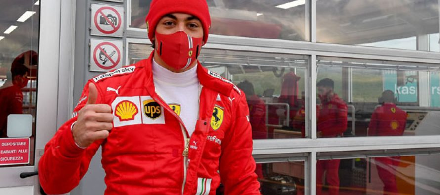 Giuliano Alesi si Ferrari si-au spus Adio