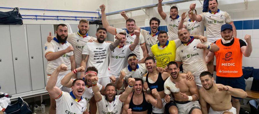 România a învins Portugalia la rugby, în ultimul minut