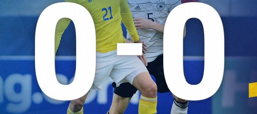 România iese de la Campionatul European de Tineret după 0-0 cu Germania