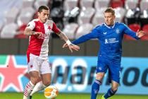 Nicușor Stanciu, gol senzațional în Slavia-Rangers