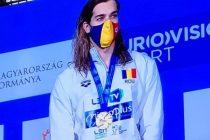Robert Glință, primul înotător român campion european