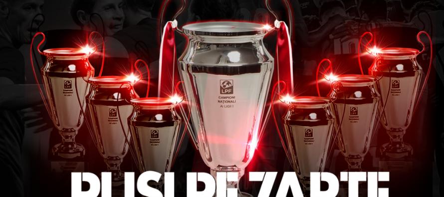 CFR Cluj a câștigat al 7-a titlu de campioană a României la fotbal