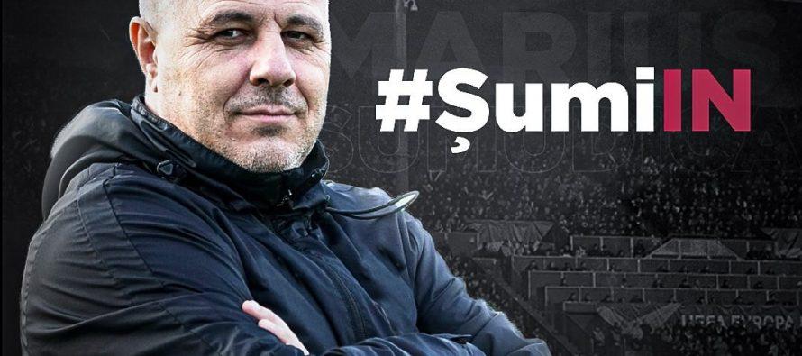 Marius Șumudică este noul antrenor al CFR Cluj