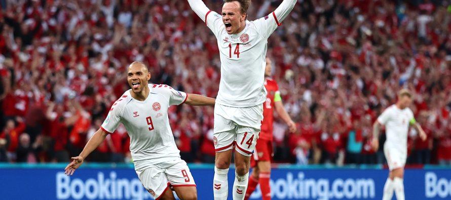 Danemarca a distrus Rusia la EURO2020