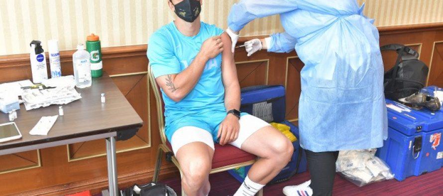 Echipa de rugby a Argentinei s-a vaccinat anti-Covid la București