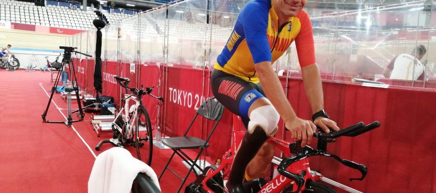 Eduard Novak a luat argint la Jocurile Paralimpice de la Tokyo